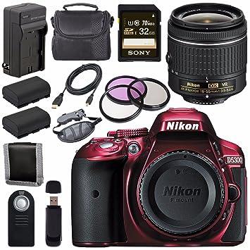 Amazon.com: Nikon D5300 Cámara réflex digital con AF-P 18 ...