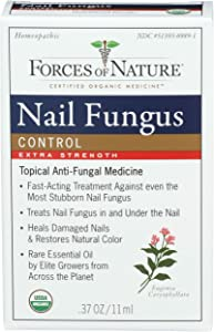 Forces Of Nature, Nail Fungus Control Extra Strength Organic, 0.37 Ounce