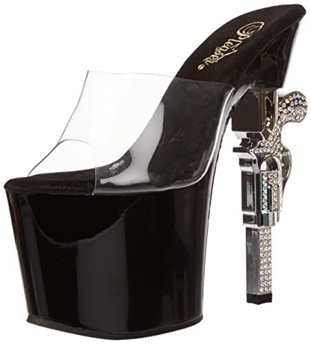 701Sandales Ouvert Pleaser Revolver Femme Bout yvwPO8n0mN