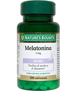 NATURE´S BOUNTY - MELATONINA 1mg 100comp NATURE´S BOUNTY