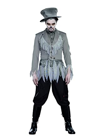 dreamgirl mens groom of doom costume gray medium - Amazon Halloween Costumes Men