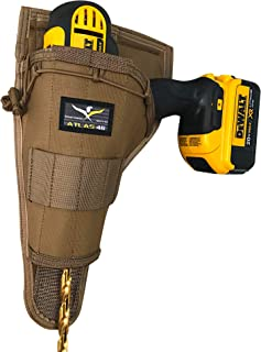 product image for Atlas 46 AIMS Large Drill Holster - Left Handed, Coyote | Hand crafted in the USA