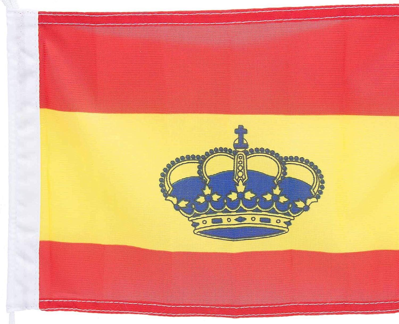 wellenshop bootsflaggen Italia Suecia España 20 X 30 cm sin Bandera Stock: Amazon.es: Deportes y aire libre