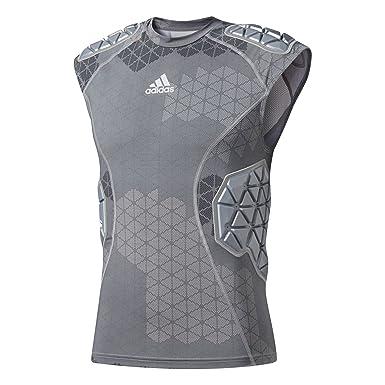 Adidas Techfit ironskin Mens 5 Pad sin Mangas Camiseta de fútbol - Multi - XL: Amazon.es: Ropa y accesorios