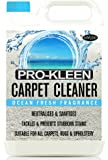 Mylek Ocean Fresh 5 Litres Carpet & Upholstery Shampoo Professional High Extraction Concentrate (Works With All Machines)