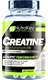NutraKey Creatine Monohydrate Capsules, 100-Count
