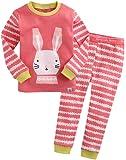 Amazon Price History for:Vaenait baby 12M-7T 100% Cotton Kids Girls Easter Rabbit Sleepwear Pajama 2 Pieces Set