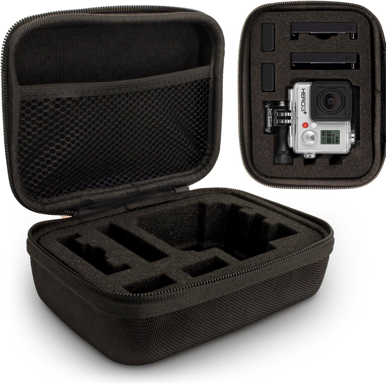 Optix Pro U6315 Small Chica Carcasa EVA Rígida Compatible con GoPro Hero1 a Hero5 Cáms -Negro: Amazon.es: Electrónica