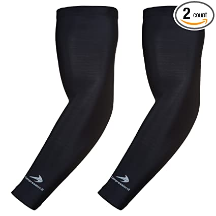 b15d0bf4f6 Arm Sleeves for Kids (1 Pair) Compression - Boys, Girls, Youth Basketball