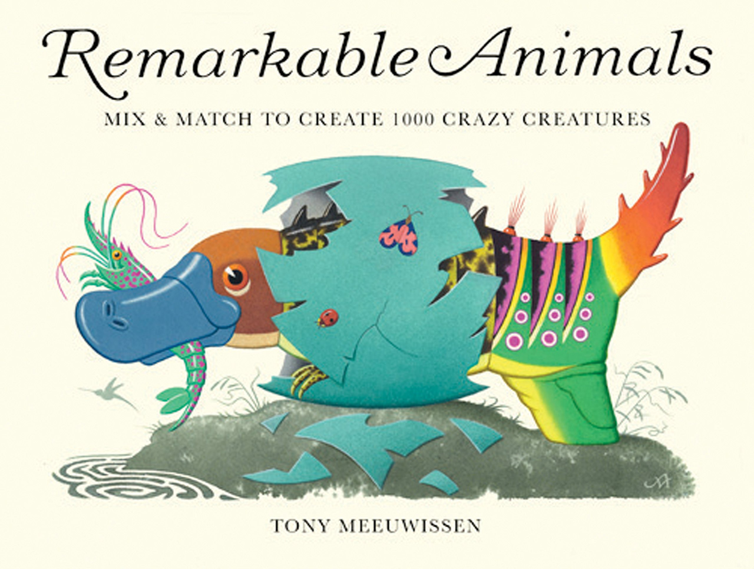 Download Remarkable Animals (mini edition): Mix & Match to Create 100 Crazy Creatures pdf