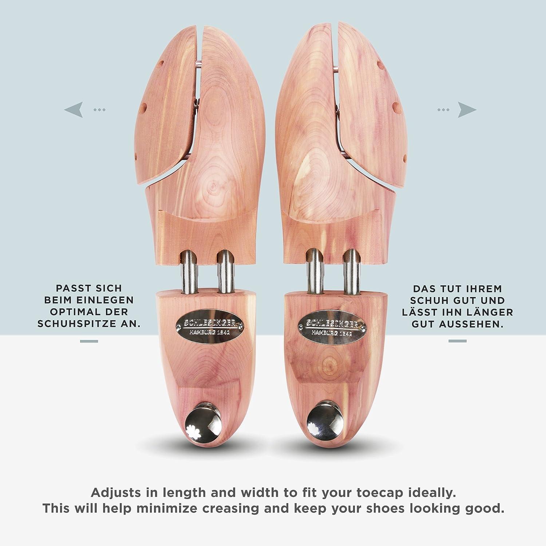 4 paires embauchoir de marque en bois de c/èdre pr/écieux pour hommes pour un entretien optimal des chaussures Schlesinger 52 couleur argent ou or. Pointures 35 Mod/èle /«/Kaiser//»