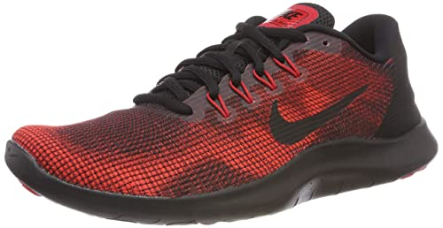 new styles ea65d cf071 Nike Men s Flex 2018 RN Blk-Red Running Shoes-9 UK India (