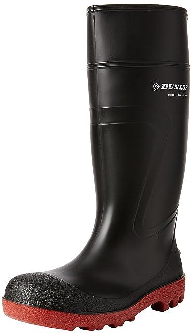 Dunlop - Calzado de protección de sintético para mujer negro negro 40,5 EU
