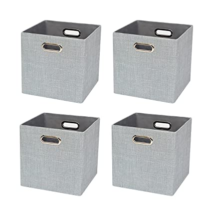 Foldable Storage Bins Boxes Cubes Container Organizer Baskets Fabric Drawers Bedroom Closet Toys  sc 1 st  Amazon.com & Amazon.com: Foldable Storage Bins Boxes Cubes Container Organizer ...