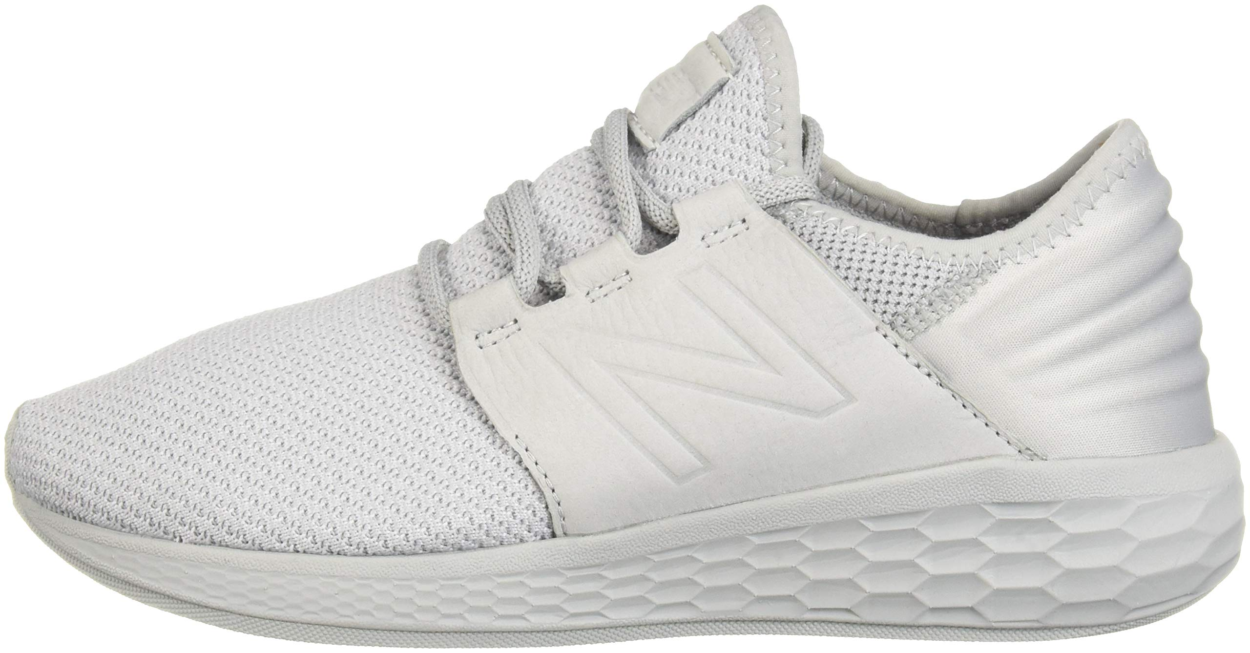 New Balance Men's Cruz V2 Fresh Foam Running Shoe, arctic fox/white/nubuck, 7 D US by New Balance (Image #5)