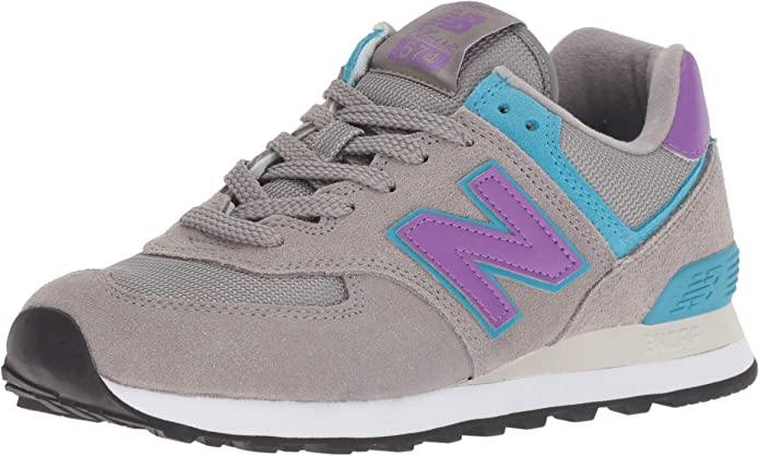 New Balance 574v2 Sneakers Herren Grau/Lila (Rain Cloud/Faded Violet)