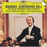 Brahms: Symphony N. 4 / Tragic Overture