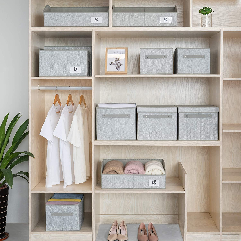 Large Closet Storage Baskets