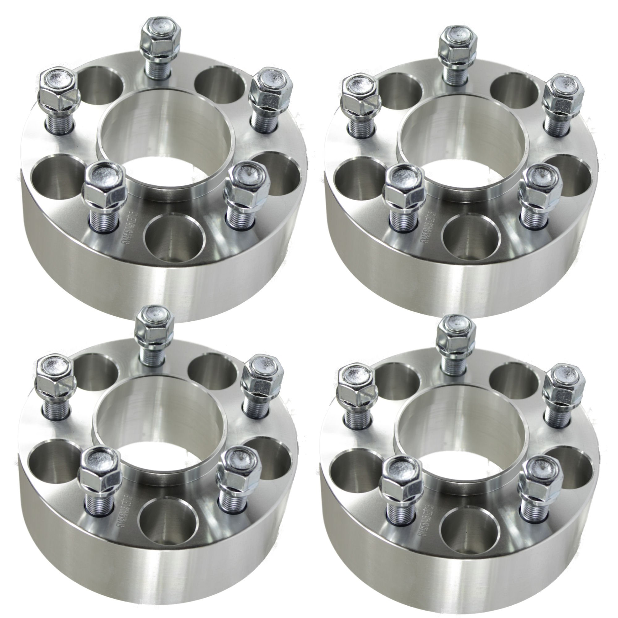 4pc 2.0'' Jeep Hubcentric Wheel Spacers 5x5 for Grand Cherokee Commander Wrangler XK JK WK 5x127