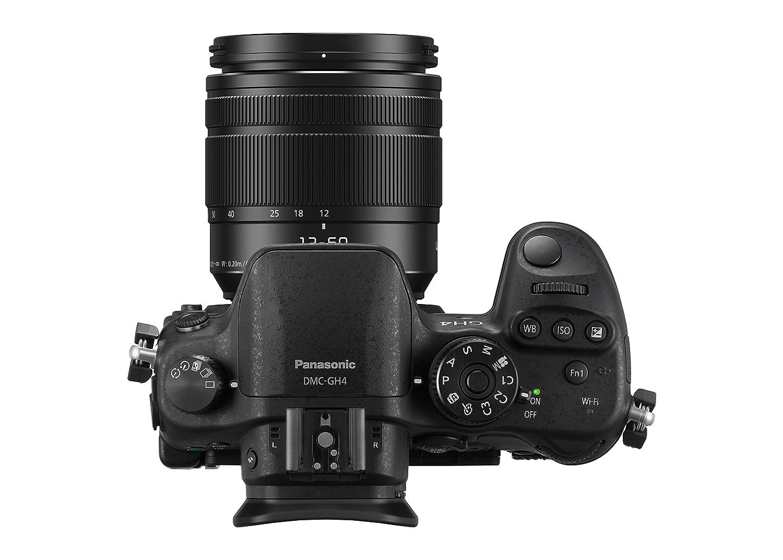 Panasonic LUMIX G DMC-GH4MEG-K Systemkamera mit: Amazon.de: Kamera