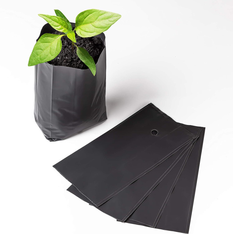 Nursery Pots Plant Grow Bags 25 pcs Seedling Planter 12/25?m (4.7