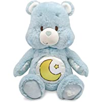 Kids Preferred Care Bears Soother Bear Stuffed Animal Plush with Music & Lights, Bedtime Bear (Blue)