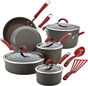 Rachael Ray Nonstick Cookware Pots and Pans Set