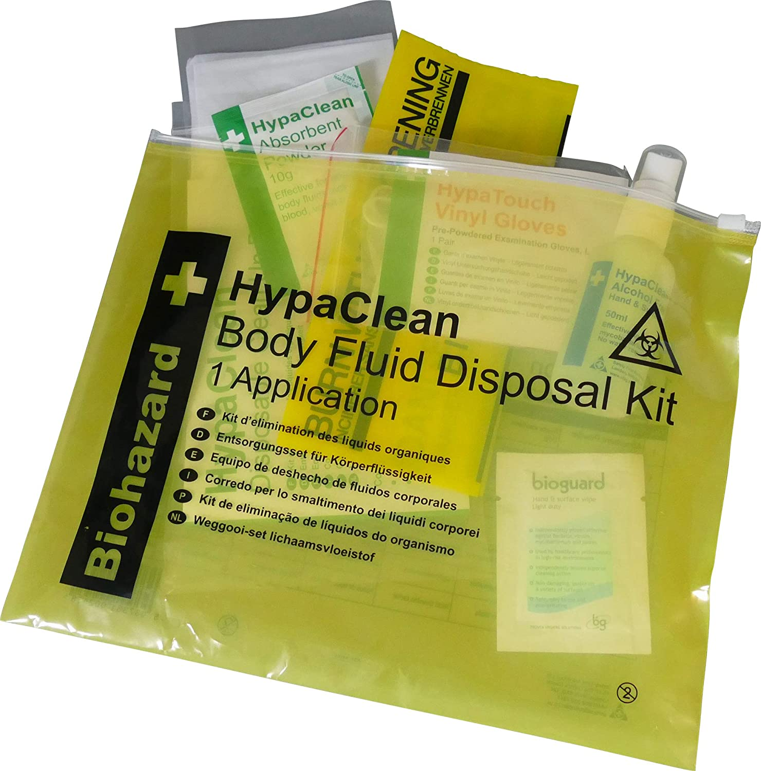 Safety First Aid K418A HypaClean Body Fluid Disposal Kit AutoMotion Factors Limited