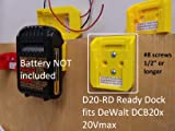 D20 Ready Dock, Cover, Mount, Store Dewalt