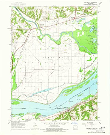 Amazon Com Yellowmaps Dallas City Il Topo Map 1 24000 Scale 7 5