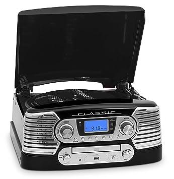 BigBen TD80NM+BLIS - Tocadiscos con CD, USB, MP3, WMA + pack ...