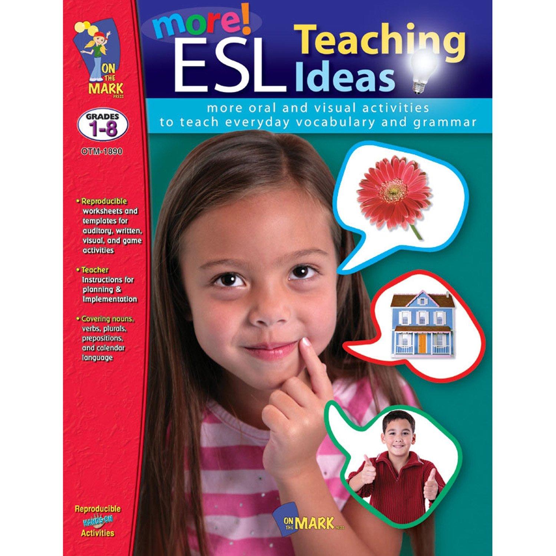 On The Mark Press OTM1890 More ESL Teaching Ideas
