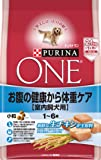 ピュリナ ワン 成犬用(1-6歳) 室内飼犬用 お腹の健康から体重ケア 小粒 チキン 2.1kg(700g×3袋) [ドッグフード]