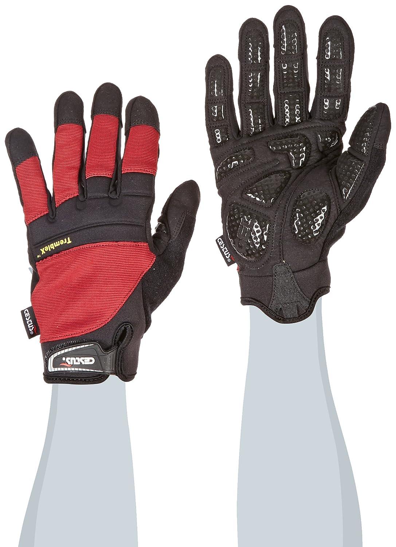 Large Black Pack of 1 Pair Work Cestus Vibration Series TrembleX-5 Neoprene Polychloroprene Anti-Vibration Glove