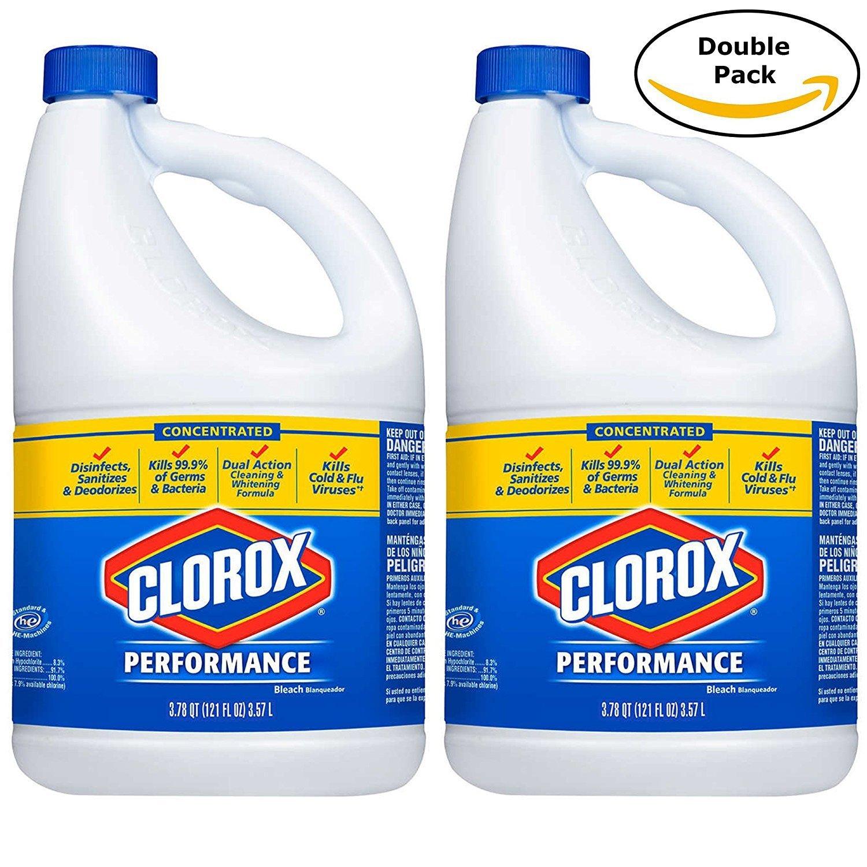Clorox HE Performance Bleach (121 oz.) 2 pack