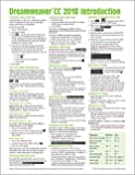 Adobe Dreamweaver CC 2018 Introduction Quick Reference Guide (Cheat Sheet of Instructions, Tips & Shortcuts - Laminated Card)