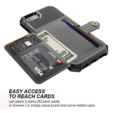 Amazon.com: iPhone 8 Case, iPhone 7 Case, Tznzxm Heavy Duty ...