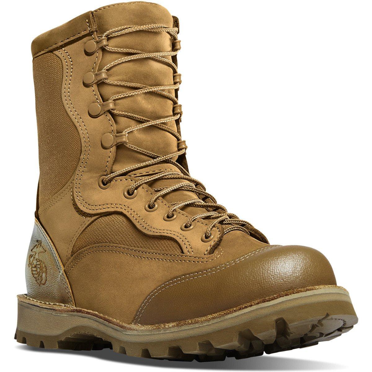 Danner Men's USMC Rat 8'' Steel Toe Boot Mojave 9 W