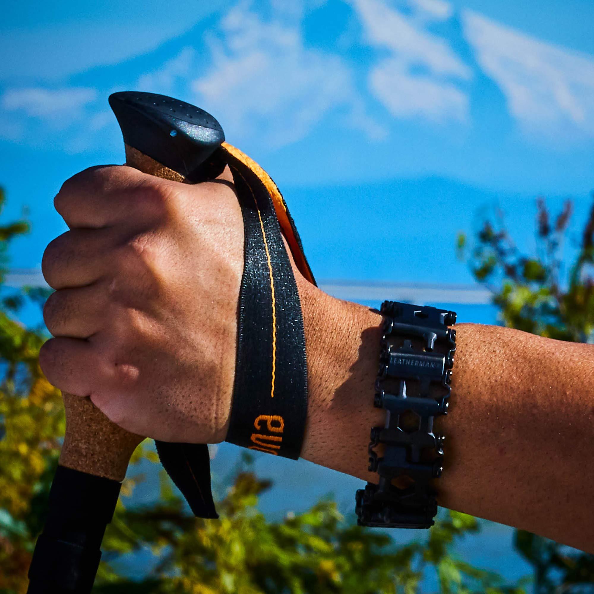 LEATHERMAN - Tread Bracelet, The Original Travel Friendly Wearable Multitool, Black by LEATHERMAN (Image #9)