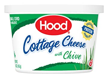 Hood, Cottage Cheese With Chive, 16 Oz