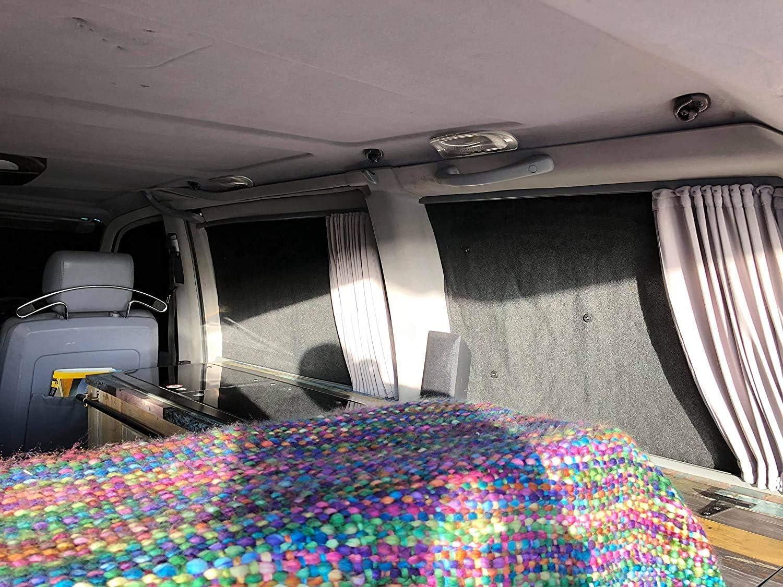 Mercedes Benz Vito 638 Aislamiento T/érmico Plata Ciego Pantallas Interno Completo 8p Set
