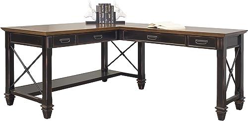 Martin Furniture Hartford Open L-Shaped Desk