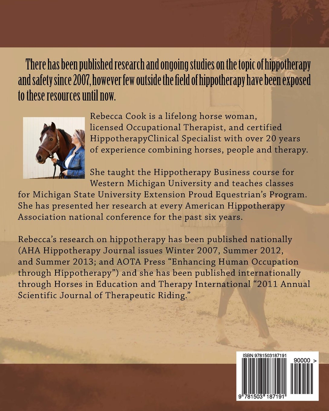 Brown Pony Series: Book Two: Risk Management & Safety in ...