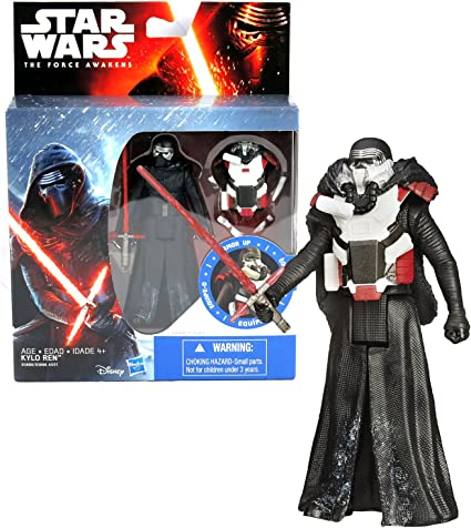 "2015, Hasbro Star Wars The Force Awakens KYLO REN 11/"" Action Figure"