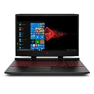 "HP Omen 15"" Gaming Laptop FHD IPS Intel i7-8750H GeForce GTX 1050 Ti 4 GB, 1 TB HDD, 12 GB RAM, 128 GB SSD Windows 10"