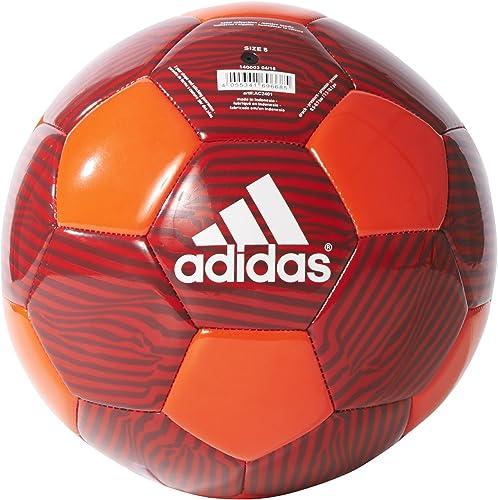adidas Performance MUFC Soccer Ball 5 Solar Red