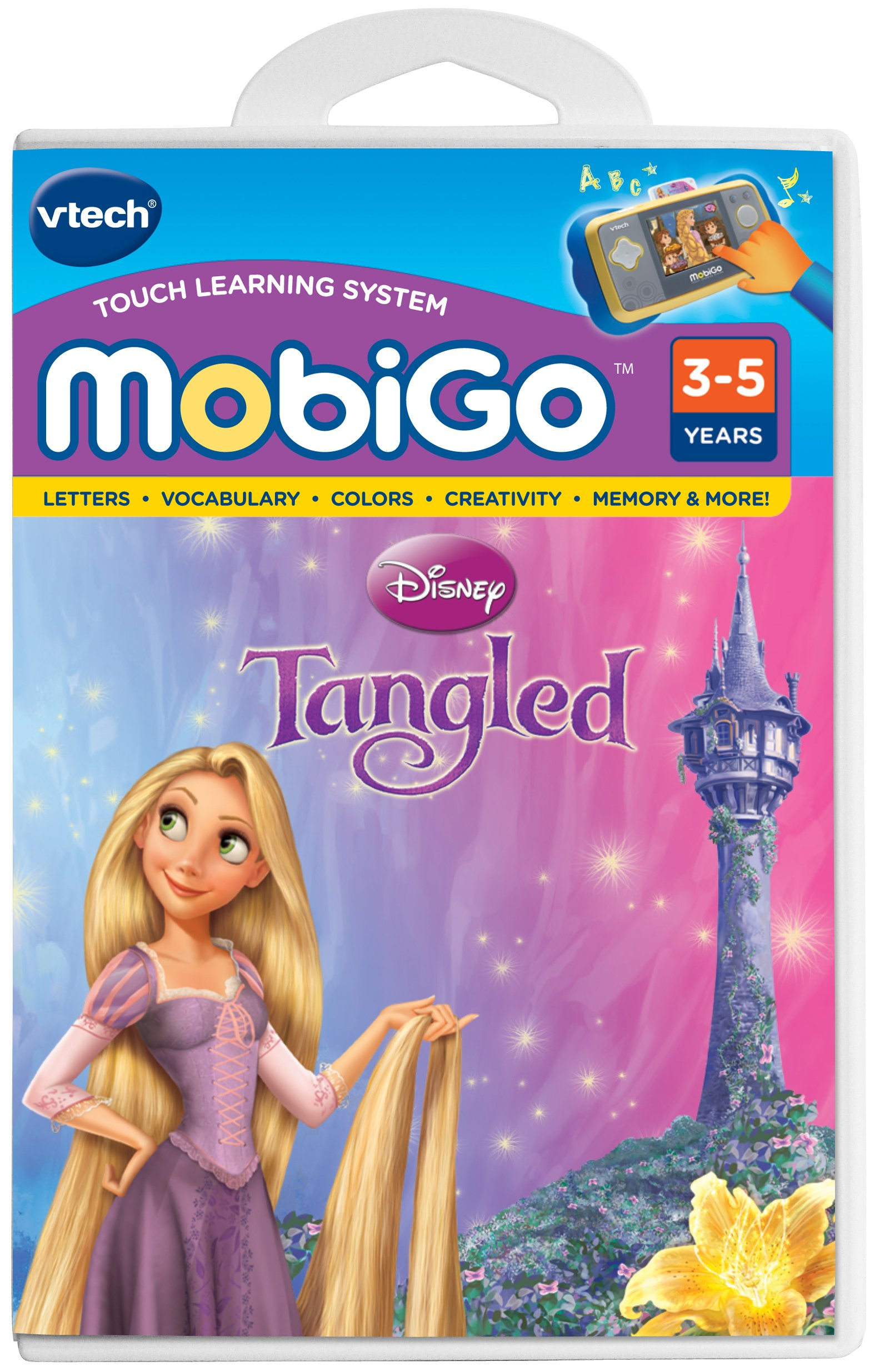 VTech - MobiGo Software - Disney's Tangled by VTech (Image #1)