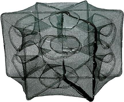 16 Holes Folded Fishing Trap Net Automatic Fishing Trap Shrimp Cage Crab Net