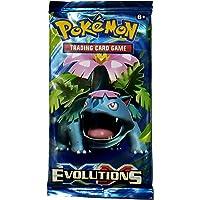 ISRE New Pokemon Evolutions Trading Cards for Kids (Random Pack & Non Licensed)