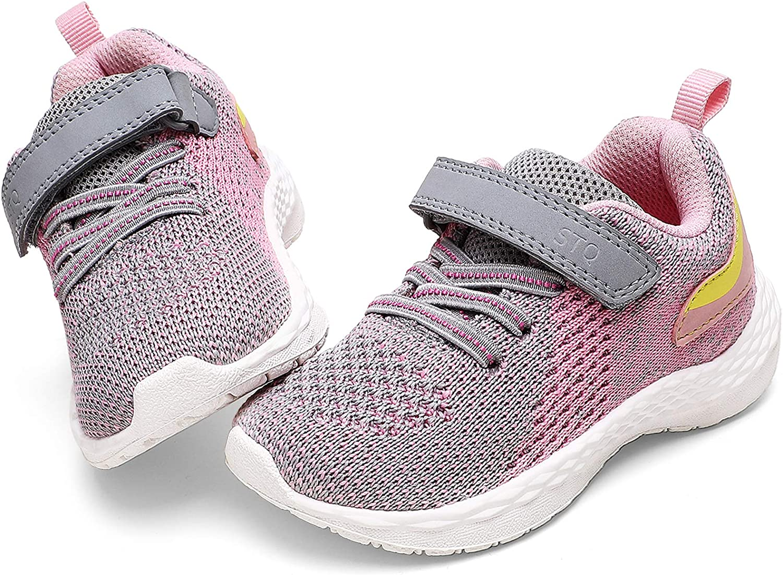 GUBARUN Toddler Boys Girls Sneakers Kids Lightweight Tennis Shoes Breathable